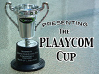 The PLAAYCOM Cup, achievement of tabletop sports excellence!