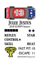 Sample card from '17 North American Pro Season for SOCCER BLAST